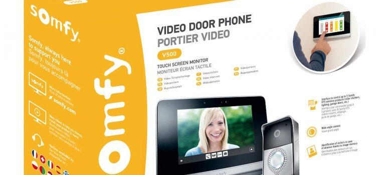 Visiophone filaire Somfy v500 : est-il le meilleur visiophone filaire de la marque ?